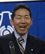 会員スピーチの臼井研人氏