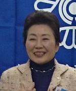 会員挨拶の北原京子専任幹事