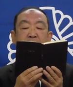 輪読をする川原さん