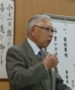 会員スピーチの山本茂氏