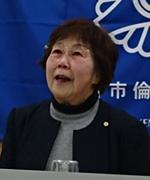 会員スピーチの高山京子さん