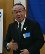 会員スピーチ川原さん