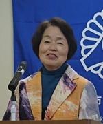 会員スピーチの米山さん